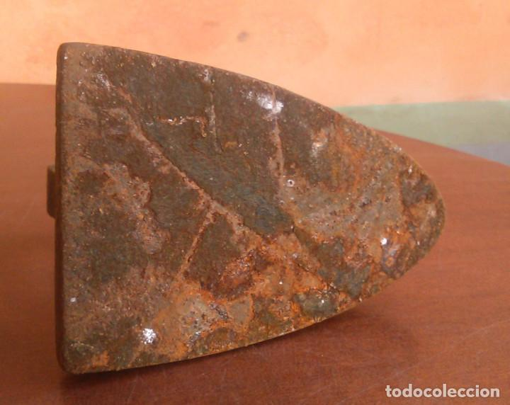Antigüedades: Plancha de carbón antigua. - Foto 6 - 134096446