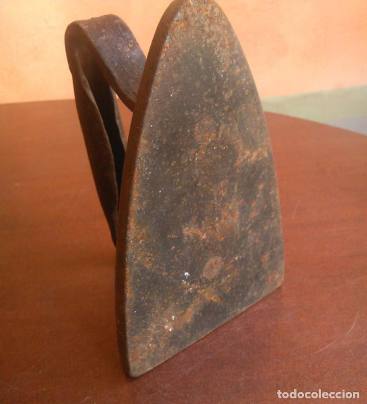 Antigüedades: Plancha de carbón antigua Kenrick. - Foto 5 - 134096678