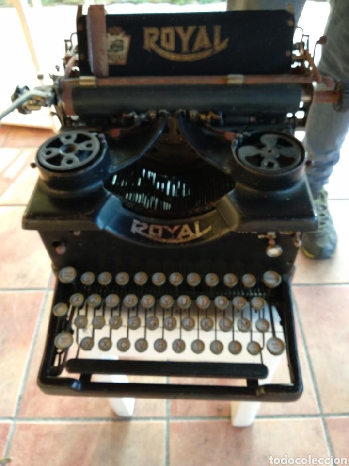 MAQUINA DE ESCRIBIR ROYAL 10 (Antigüedades - Técnicas - Máquinas de Escribir Antiguas - Royal)
