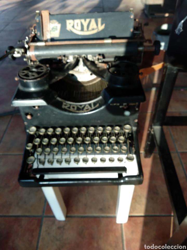 Antigüedades: Maquina de escribir royal 10 - Foto 2 - 134134694