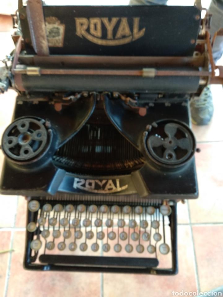 Antigüedades: Maquina de escribir royal 10 - Foto 4 - 134134694