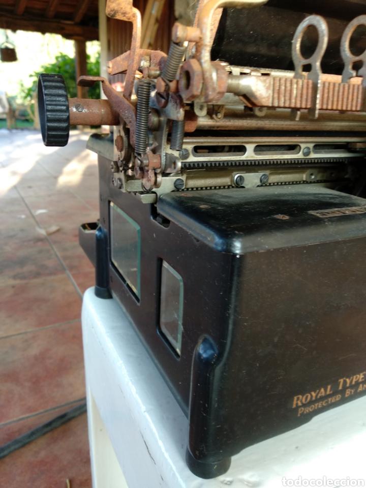 Antigüedades: Maquina de escribir royal 10 - Foto 6 - 134134694