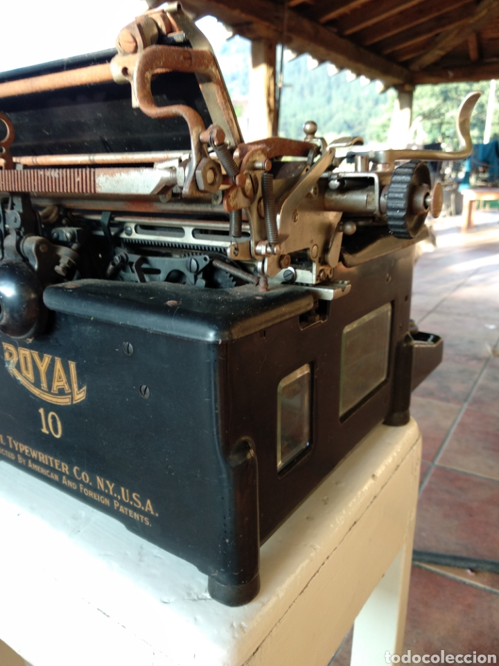 Antigüedades: Maquina de escribir royal 10 - Foto 7 - 134134694