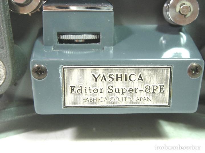 Antigüedades: ANTIGUO VISOR-EDITOR - YASHICA 8PE DUAL- SUPER Y 8MM ¡¡COMO NUEVO Y FUNCIONANDO¡¡ 8 M MM 8-PE - Foto 5 - 134329238