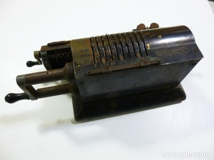 Antigüedades: Calculadora años 30 del siglo XX Original Odhner fabricación Sueca decorativa - Foto 2 - 134339418