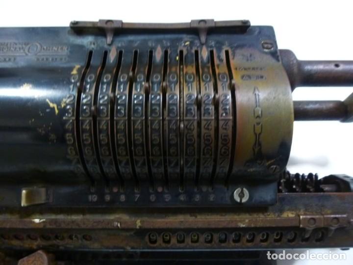 Antigüedades: Calculadora años 30 del siglo XX Original Odhner fabricación Sueca decorativa - Foto 4 - 134339418