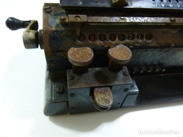 Antigüedades: Calculadora años 30 del siglo XX Original Odhner fabricación Sueca decorativa - Foto 5 - 134339418