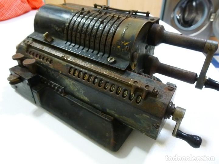 Antigüedades: Calculadora años 30 del siglo XX Original Odhner fabricación Sueca decorativa - Foto 6 - 134339418
