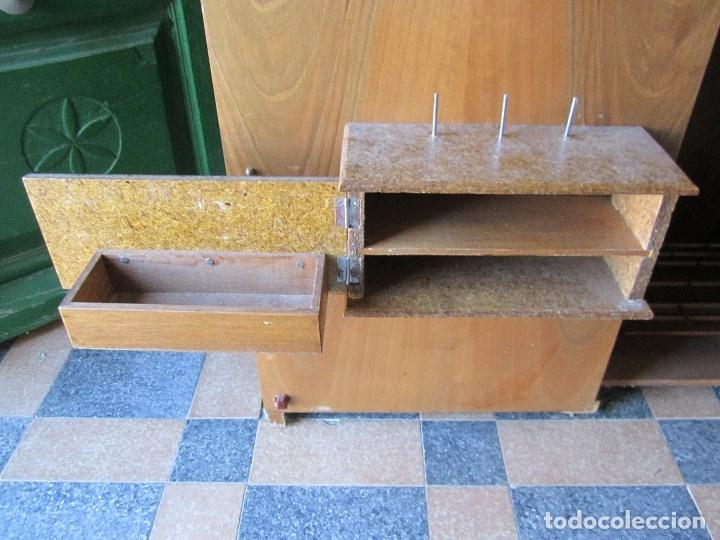 Antigüedades: MAQUINA DE COSER ALFA - FUNCIONANDO Y COMO NUEVA - Foto 12 - 133583802