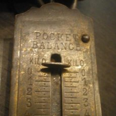Antigüedades: BALANZA DE BOLSILLO. Lote 134340310