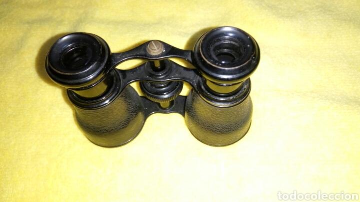 Antigüedades: ANTIGUOS GEMELOS DE TEATRO, PIEL NEGRA - Foto 5 - 134356469