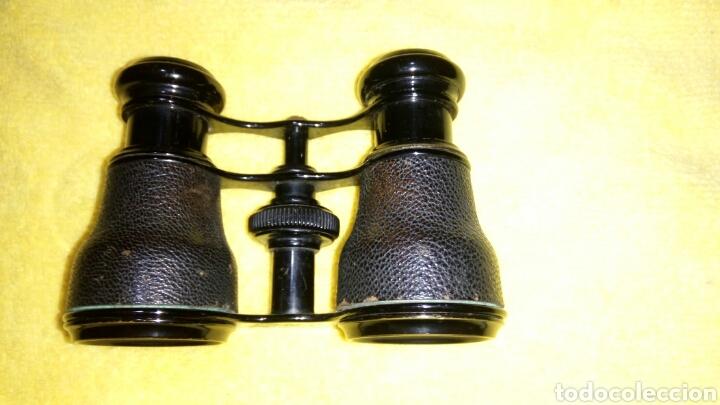 Antigüedades: ANTIGUOS GEMELOS DE TEATRO, PIEL NEGRA - Foto 11 - 134356469