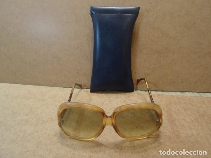 ANTIGUAS GAFAS DE SOL (Antigüedades - Técnicas - Instrumentos Ópticos - Gafas Antiguas)
