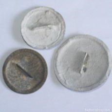 Antigüedades: LOTE DE 3 TAPAS DE REGISTRO ELÉCTRICO ANTIGUAS. Lote 134577090