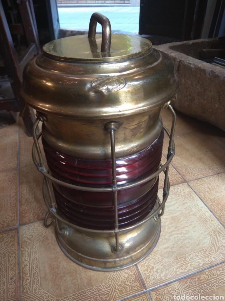 FAROL DE BARCO PERKO - PERKINS MARINE LAMP - BROOKLYN NEW YORK - (Antigüedades - Antigüedades Técnicas - Marinas y Navales)