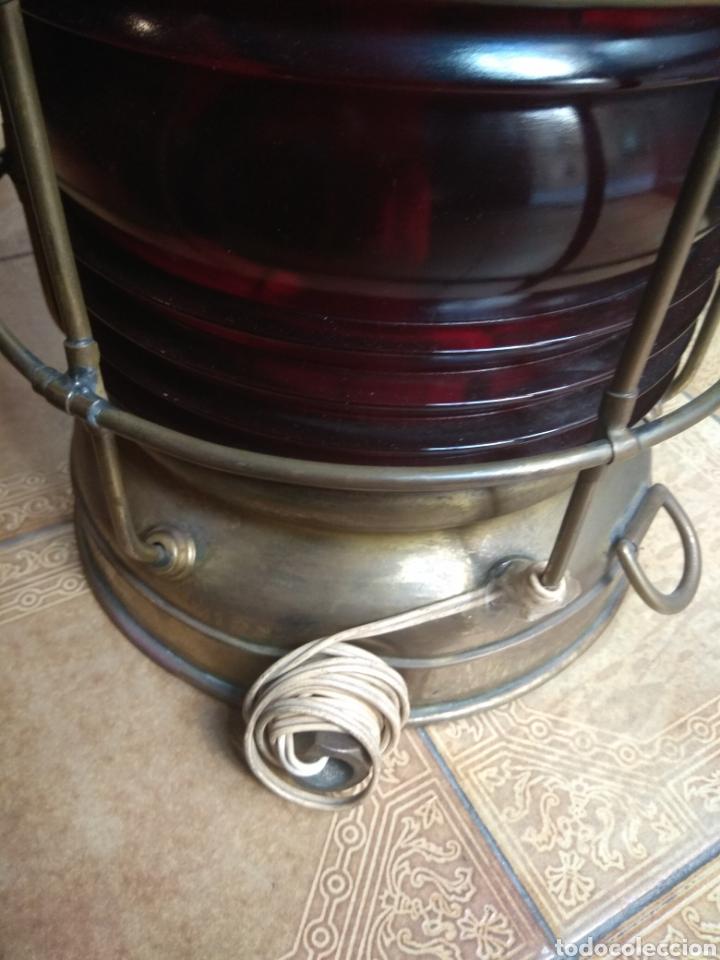 Antigüedades: Farol de Barco Perko - Perkins Marine Lamp - Brooklyn New York - - Foto 7 - 134711635
