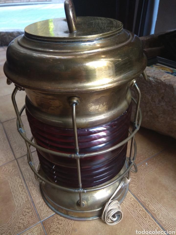 Antigüedades: Farol de Barco Perko - Perkins Marine Lamp - Brooklyn New York - - Foto 8 - 134711635