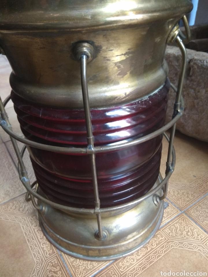 Antigüedades: Farol de Barco Perko - Perkins Marine Lamp - Brooklyn New York - - Foto 12 - 134711635