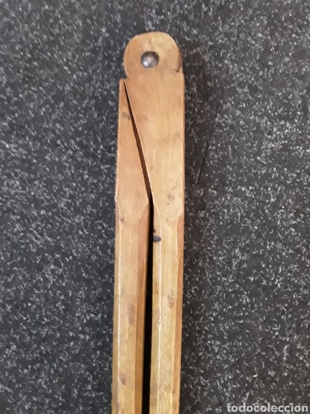Antigüedades: Compas antiguo de madera - Foto 4 - 134821347