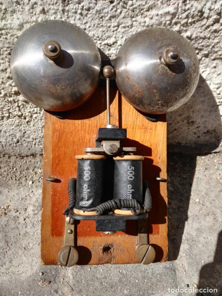 TIMBRE DE CAMPANA ANTIGUO AÑOS 1950 (Antigüedades - Técnicas - Herramientas Profesionales - Electricidad)