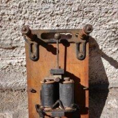 Antigüedades: TIMBRE DE CAMPANA ANTIGUO. Lote 134906978