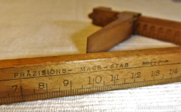 Antigüedades: ANTIGUO METRO POINTS-PARIS PRAZISIONS - MASS-STAB G F - Foto 5 - 134954758