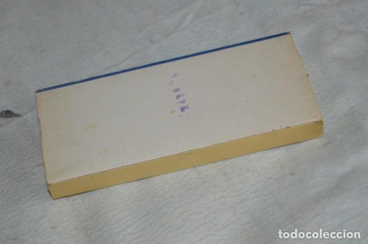 Antigüedades: ANTIGUA CAJA DE HILOS LA PALETA - COMPLETA - SEDA - COLOR Nº 2739 - VINTAGE - ENVÍO24H - Foto 6 - 134982810