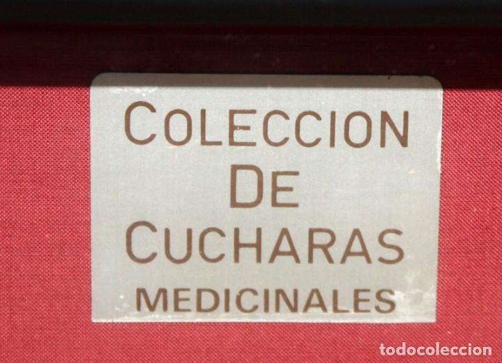 Antigüedades: 5 CUCHARAS MEDICINALES- DE COLECCIÓN- SIGLOS- XVII Á XIX. - Foto 2 - 135002514