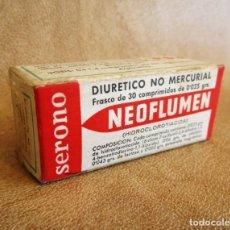 Antigüedades: MEDICAMENTO NEOFLUMEN AÑOS 60 LABORATORIOS AUSONIA. Lote 135136186