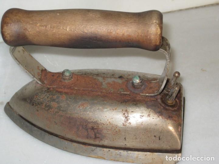 Antigüedades: Plancha electrica antigua - Foto 5 - 135198106
