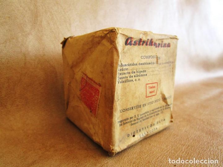 Antigüedades: MEDICAMENTO AÑOS 60 ASTRIHARINA DIETETICOS ULTA ZARAGOZA - Foto 2 - 135213718