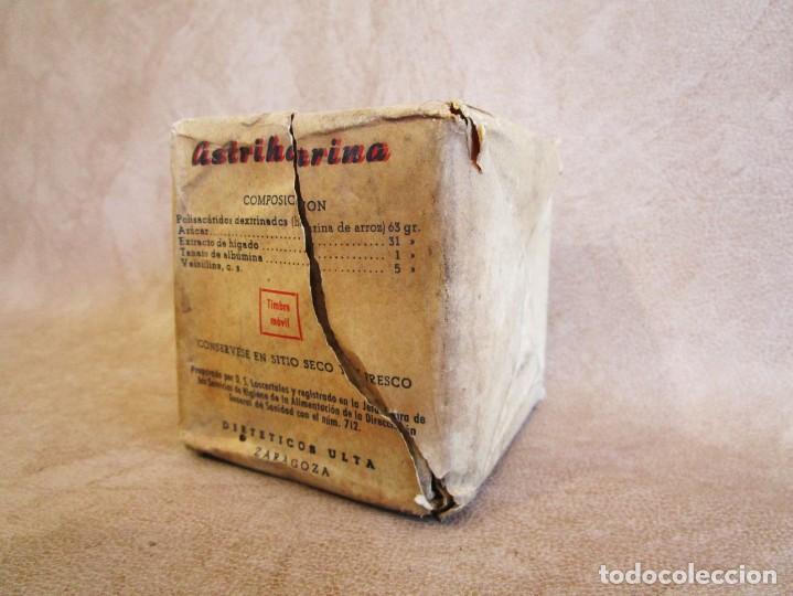 Antigüedades: MEDICAMENTO AÑOS 60 ASTRIHARINA DIETETICOS ULTA ZARAGOZA - Foto 3 - 135213718