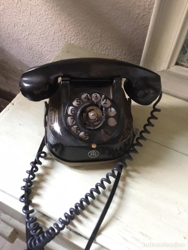 Teléfonos: Antiguo teléfono de baquelita - Foto 3 - 135236065