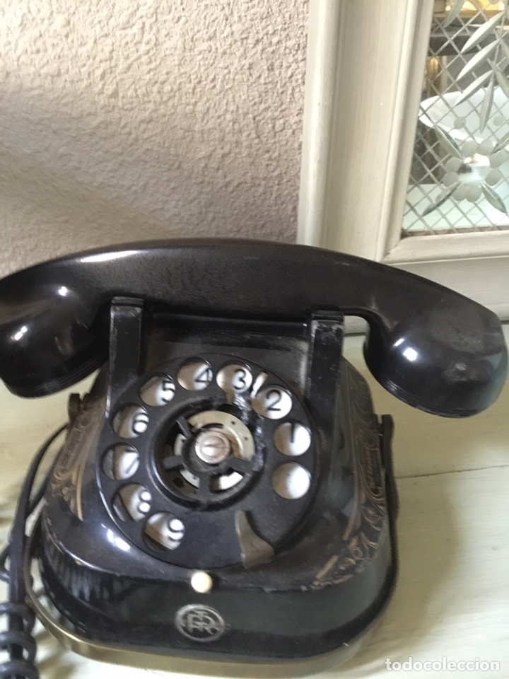 Teléfonos: Antiguo teléfono de baquelita - Foto 5 - 135236065