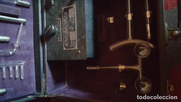 Antigüedades: MALETIN ENERGOZON - APARATO CON DIODOS PARA TRATAMIENTO DE LA PIEL - Foto 3 - 153150070