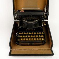 Antigüedades: CORONA TYPEWRITER COMPANY USA,1917- MÁQUINA DE ESCRIBIR PORTÁTIL. Lote 135281390