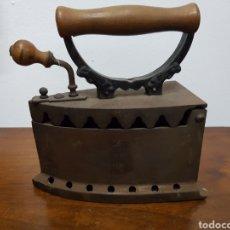 Antiquités: PLANCHA DE HIERRO VINTAGE. Lote 135411297