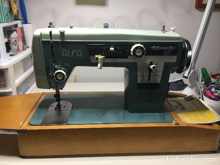 maquina de coser alfa 109 (alfamatic) vintage - Comprar
