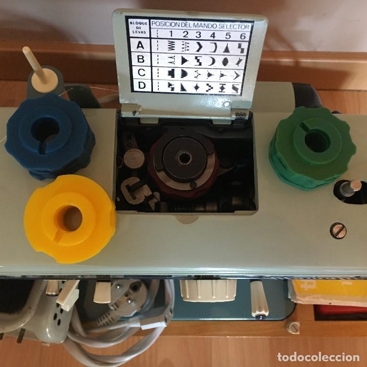 Antigüedades: Maquina de coser Alfa 109 (alfamatic) vintage - Foto 4 - 135485182