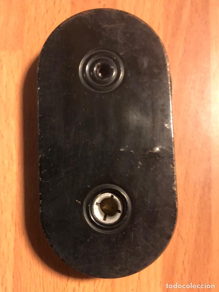 Antigüedades: Chasis cargador cartucho de hojalata para película Agfa - Foto 2 - 135525074