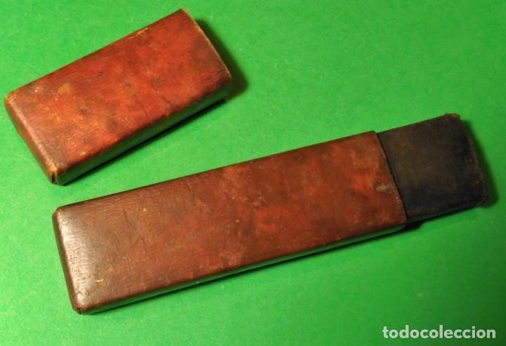 Antigüedades: Caja vacia original para navaja de afeitar o barbero UGO RADER 14. Straight razor, Box, Rasoio - Foto 2 - 135539434