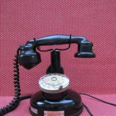 Teléfonos: ANTIGUO TELEFONO FRANCES DE MESA AÑO: 1931, MODELO PTT 24. (CON DISCO). Lote 135557826