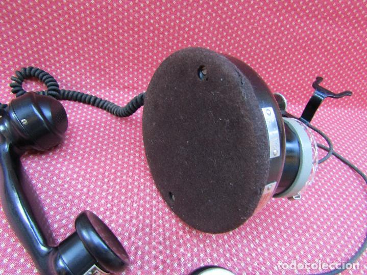 Teléfonos: ANTIGUO TELEFONO FRANCES DE MESA AÑO: 1931, MODELO PTT 24. (con Disco) - Foto 7 - 135557826