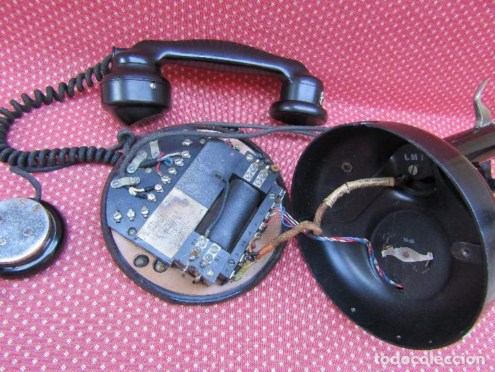 Teléfonos: ANTIGUO TELEFONO FRANCES DE MESA AÑO: 1931, MODELO PTT 24. (con Disco) - Foto 8 - 135557826