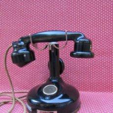 Teléfonos: ANTIGUO TELEFONO FRANCES DE MESA AÑO: 1928, MODELO PTT 24. (SIN DISCO). Lote 135558858