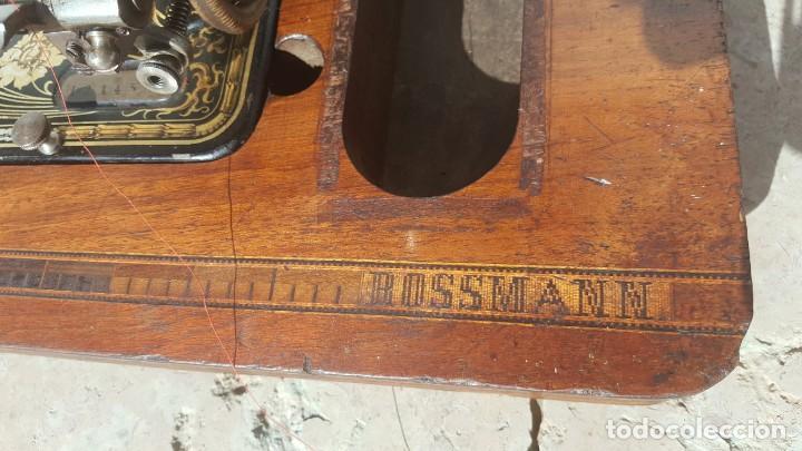 Antigüedades: Maquina de coser Antigua Frister & Rossman - Foto 9 - 135605650