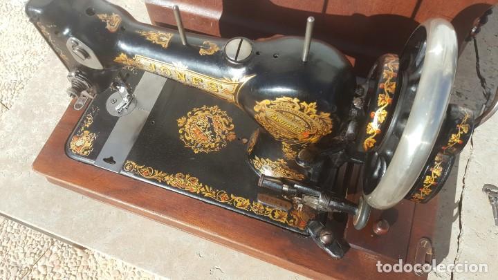 Antiquitäten: Maquina de coser Antigua Jones - Foto 3 - 135605878