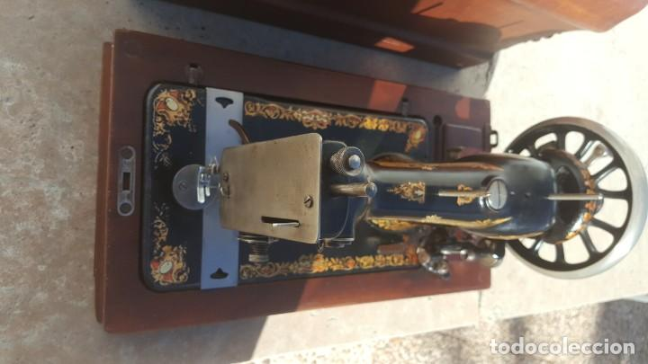 Antiquitäten: Maquina de coser Antigua Jones - Foto 5 - 135605878