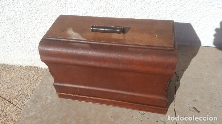 Antiquitäten: Maquina de coser Antigua Jones - Foto 15 - 135605878