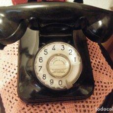 Teléfonos: TELÉFONO DE BAQUELITA DE ESTÁNDAR ELÉCTRICA (ESPAÑA). Lote 135611826
